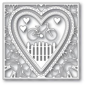 Wykrojnik Memory Box - Neighborhood Heart Frame (94102)