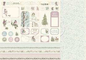 Arkusz z elementami Winter Wonderland (22012)