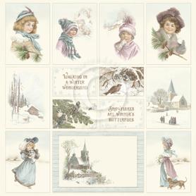 Arkusz z elementami Winter Wonderland 2 30x30 (1642)
