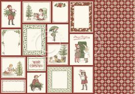 Arkusz dwustronny - Christmas memories 30,5x30,5cm (20011)