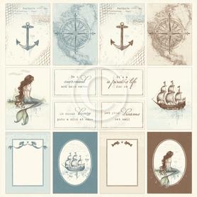 Arkusz z elementami Legends of the Sea  30x30 1627