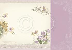 Arkusz dwustronny - Spring fairies 30x30 (24001)