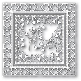 Wykrojnik Memory Box - Heart Border (94118)