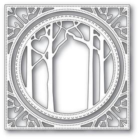 Wykrojnik Memory Box - Woodland Heart Frame(94121)