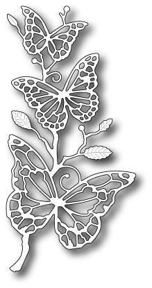 Wykrojnik Memory Box - Colette Butterfly (99387)