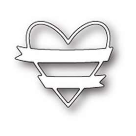 Wykrojnik Memory Box - Wrapped Heart (99622)