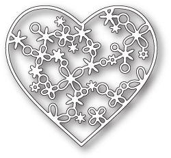 Wykrojnik Memory Box - Rivington Heart (99667)