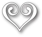 Wykrojnik Memory Box - Clip Heart (99671)