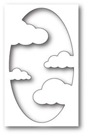 Wykrojnik Memory Box - Cool Cloud Collage (99700)