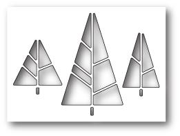 Wykrojnik Memory Box - Deco Trees (99795)