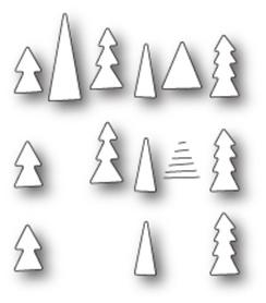 Wykrojnik Memory Box - Tiny Tree Triplet (99814)