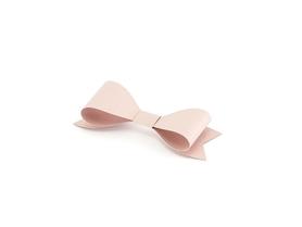 Kokardki z papieru do złożenia, pudrowy róż 6szt.