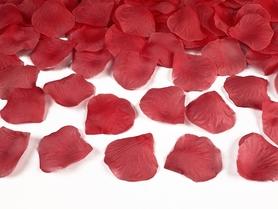 Płatki róż w woreczku, czerwone (1 op. / 100 szt.)