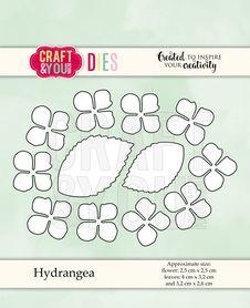 CW068 Wykrojnik - Hydrangea - Hortensja