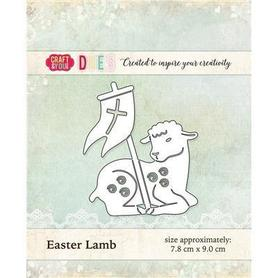 CW017 Wykrojnik Baranek Wielkanocny