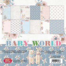 CPB-BW30 Bloczek 30x30 cm Baby World