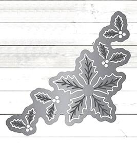 Wykrojnik Narożnik świąteczny wewnętrzny (10954)