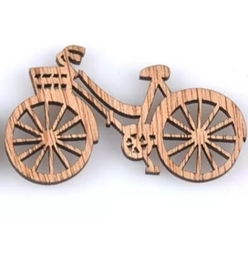 Ozdoba drewniana Rower 49x29mm