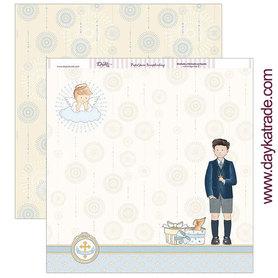 SCP-305 Dayka Arkusz papieru 30,5x30,5 cm Chłopiec