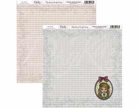 SCP-051 Dayka Arkusz papieru 30,5x30,5 Dziewczynka