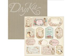SCP-071 Dayka Arkusz papieru 30,5x30,5cm