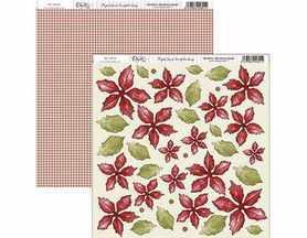 SCP-076 Dayka Arkusz papieru 30,5x30,5cm Poinsecja