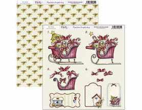 SCP-077 Dayka Arkusz papieru 30,5x30,5cm Święta