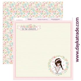 SCP-179 Dayka Arkusz papieru 30,5x30,5 Dziewczynka