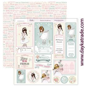 SCP-182 Dayka Arkusz papieru 30,5x30,5 Dziewczynka
