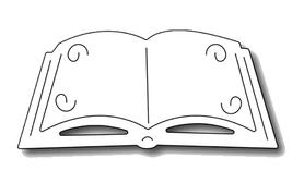Wykrojnik Książka Biblia (11485)