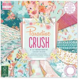 FEPAD132 Zestaw papierów Paradise Crush 20x20cm