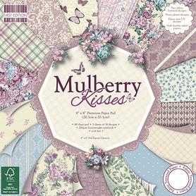 FEPAD108 Zestaw papierów Mulberry Kisses 20x20cm
