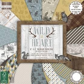 FEPAD135 Zestaw papierów Wild At Heart 20x20cm
