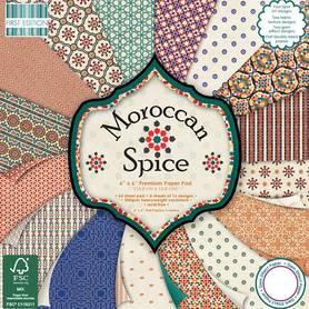 FEPAD118 Zestaw papierów Morrocan Spice 15x15cm