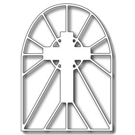 Wykrojnik Okno Krzyż (0826)