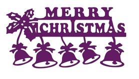 Wykrojnik AC Dzwonki Mery Christmas (17319/39)