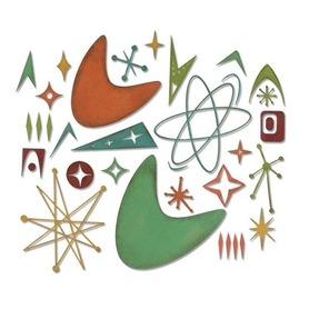 Wykrojnik Sizzix Thinlits - Atomic Elements 664152