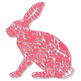 Wykrojnik Sizzix Thinlits - Wild Rabbit 661689
