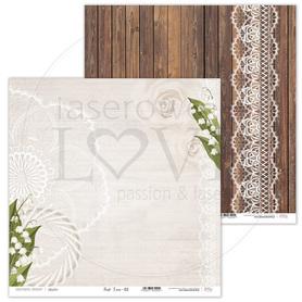 Arkusz papieru LL 30x30cm - First LOVE - 02