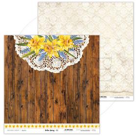Arkusz papieru LL 30x30cm - Yellow Spring - 03