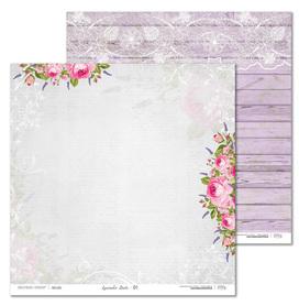 Arkusz papieru LL 30x30cm - Lavender Date - 01
