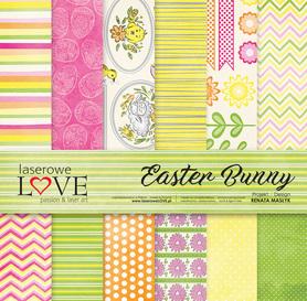 Zestaw papierów LL - 30,5x30,5cm - Easter Bunny