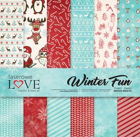 Zestaw papierów LL - 30,5x30,5cm - Winter Fun