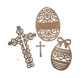 Wykrojnik Jajka i krzyż (1077)