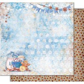 PD1082 Kora Arkusz papieru 30,5x30,5cm Cinnamon Tea