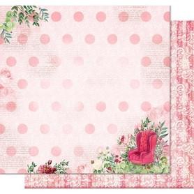 PD1102 Kora Arkusz papieru 30x30cm Lady Rose
