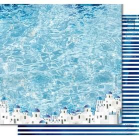 PD1090 Kora Arkusz papieru 30x30cm Mediterranean spirit
