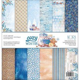 PP1613 Zestaw papierów 30x30cm - Cozy Winter