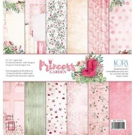 PP1615 Zestaw papierów 30x30cm - Princess Garden