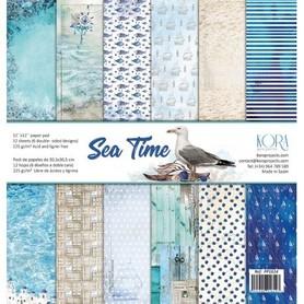 PP1614 Zestaw papierów 30x30cm - Sea Time
